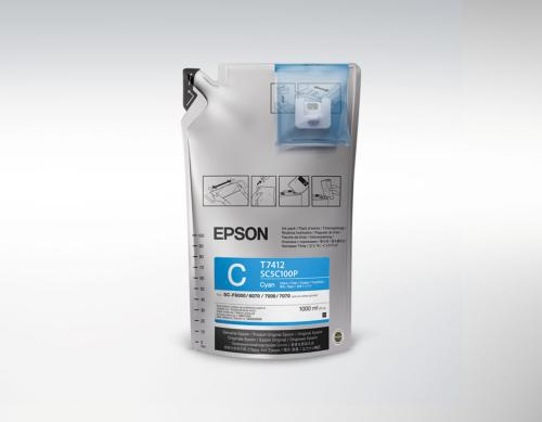 Epson UltraChrome DS Cyan T741200 1L