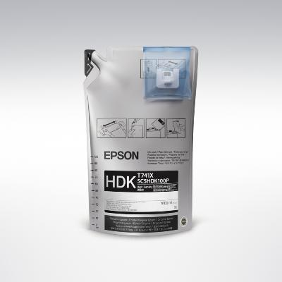 Epson UltraChrome DS HDK Black C13T741X00 1L