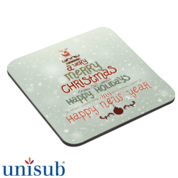 UniSub Coaster Cork Back (9.5 x 9.5cm)