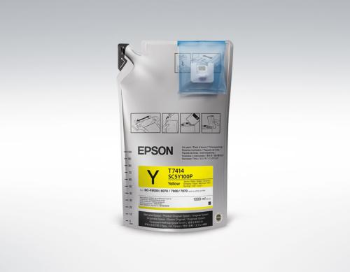 Epson UltraChrome DS Yellow T741400 1L