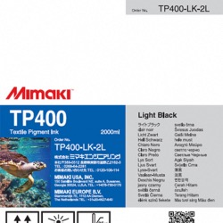 TP400 Pigment Ink 2Ltr Light Black - TP400-LK-2L-1